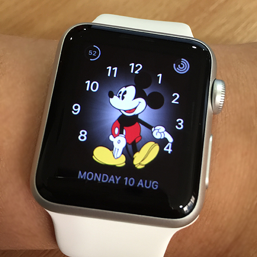 Mickey watch face